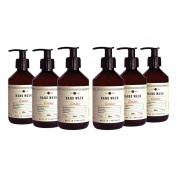 Fikkerts Luxury Wooded Amber & Citrus Hand Wash Six Pack