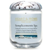 Heart & Home Simply Spa Large Candle 340 gr