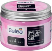 Balea Hair Styling Cream Gel Super Finish, 150 ml - German product