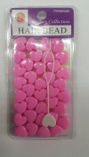 Beauty Collection Hair Collection-Hair Beads- Pink Hearts