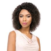 Sensationnel Brazilian Lace – Natural Jerry (Bare & Natural) – 100% Human Hair Wig 100% Human Hair Lace Wig