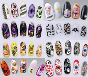 Halloween Nail Art Water Decals Transfers