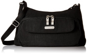 Baggallini Women's Everyday Crossbody Black/Sand Bagg