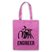 Trust Me I'm An Engineer Funny Work Slogan Tote Bag