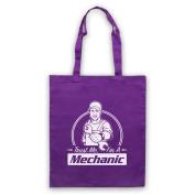 Trust Me I'm A Mechanic Funny Work Slogan Tote Bag