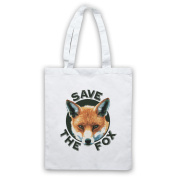 Save The Fox Protest Tote Bag