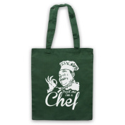 Trust Me I'm A Chef Funny Work Slogan Tote Bag