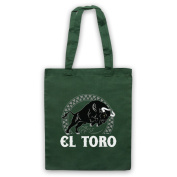 El Toro Spanish Bull Tote Bag