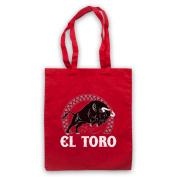 El Toro Spanish Bull Tote Bag