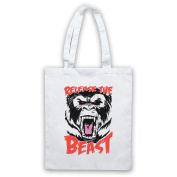 Release The Beast Gym Workout Slogan Tote Bag