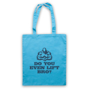 Do You Even Lift Bro Weightlifting Tote Bag