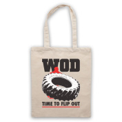 WOD Flip Out Workout Of The Day Tote Bag