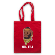Mr Tea Graphic Illustration Tote Bag