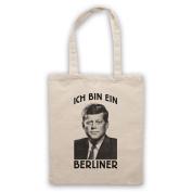 JFK Ich Bin Ein Berliner Tote Bag