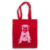 Pug Dog Cute Tote Bag