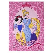 Associated Weavers 39 Glamour Children's Rug With Disney Princesses Design 95 X