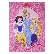 Associated Weavers 39 Glamour Children's Rug With Disney Princesses Design 95 X
