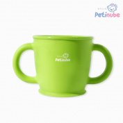 Petinube Silicone cup_Green