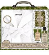 La Bella Provincia Deluxe Shower Robe Aromatherapy Collection