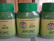 Mr Pumice Bath salt Mint Natural Pedicure