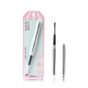 SY Cosmetic Series Lip Brush With Cap Professional Makeup Brush - Premium Nylon