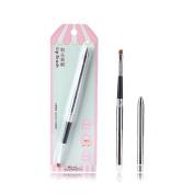 SY Cosmetic Series Lip Brush With Cap Professional Makeup Brush - Premium Nylon