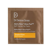 Dr Dennis Gross Alpha Beta Glow Pad Gradual Self Tanner for Face 20 Treatments