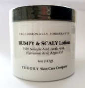 Bumpy and Scaly Lotion With Salicylic and Lactic Acid, Hyaluronic Acid and Argan Oil Skin Softening Lotion, Professionally Formulatedready to Use. Sexy Soft Skin