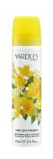Yardley of London English Freesia 80ml Deodorising Body Fragrance Spray