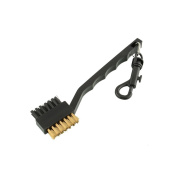 MSmask 2 Sided Brass Wires Nylon Golf Club Brush Groove Ball Cleaner Cleaning Kit