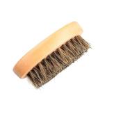 MSmask Beard Brush with Genuine Boar Bristle for Men