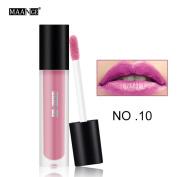 MAANGE 12 Colours New Fashion Lipstick Cosmetics Women Sexy Lips Matte Lip Gloss Party
