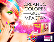 Fantasy Nails Sinaloa - Fosforecente - Neon Acrylic Powder - set of 6 Works with dip System