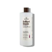 Brilliant Blonde Purple Shampoo 33.8 oz (1000 ml). Tones Blonde & Highlighted Hair. Low pH Formula, Sulphate Free, Gluten Free
