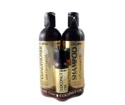 Coconut Oil Shampoo and Conditioner Set (350ml each) + Coconut Oil Hair Treatment 60ml by Delon