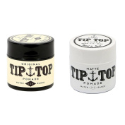 Tip Top Original & Matte Water Based Pomade 130ml Combo Pack