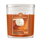 Colonial Candle 240ml Scented Oval Jar Candle, Pumpkin Pie