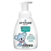 Attitude Little Ones 3 In 1 Shampoo, Body Wash And Conditioner Pear Nectar 300ml