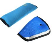 YousonGirl Seatbelt Cushion Safety Child Car Seatbelt Strap Soft Shoulder Pad Cover Head Neck Support PLUS Children Seatbelt Clip