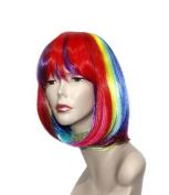 Elysee Star Women's Sexy Long Curly Fancy Dress Wigs Cosplay Costume Ladies Full Wig Party (Fancy Bebe