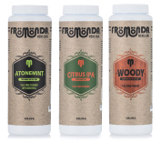 Fromonda Variety Pack Talc Free Body Powder, (3 Pack), 150ml Each