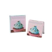Compact Folding Handbag Mirror Make-up Cosmetic Travel Magnified Cupcake Design