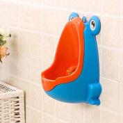 Hrph Frog Children Potty Toilet Training Kid Urinal for Boy Pee Trainer Bathroom