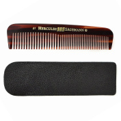 Hercules Sägemann Cellon Pocket Comb with leather pouch - Made in Germany