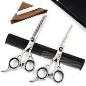 """Blue Avocado Professional Hairdressing Scissors Set- 6.5"""""""