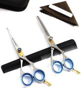 """Blue Avocado Professional Hairdressing Scissors Set- 5.5"""""""