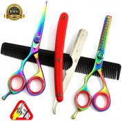 Professional Left Hand 15cm Salon Cutting Hairdressing Scissors Hair Shears Tool