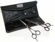 Haito Basix Hairdressing 13cm Cutting & 14cm thinning Scissor Wallet Set - Right
