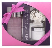 Style & Grace Luxury Retreat Set - 500ml Luxury Bath Cream + 170ml Body But