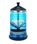 (medium) - Barbicide Salon Barber Professional Disinfecting Jar, Medium 621 Ml.